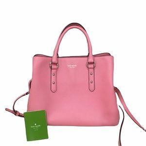 Kate Spade Coral Pink Satchel Purse Bag